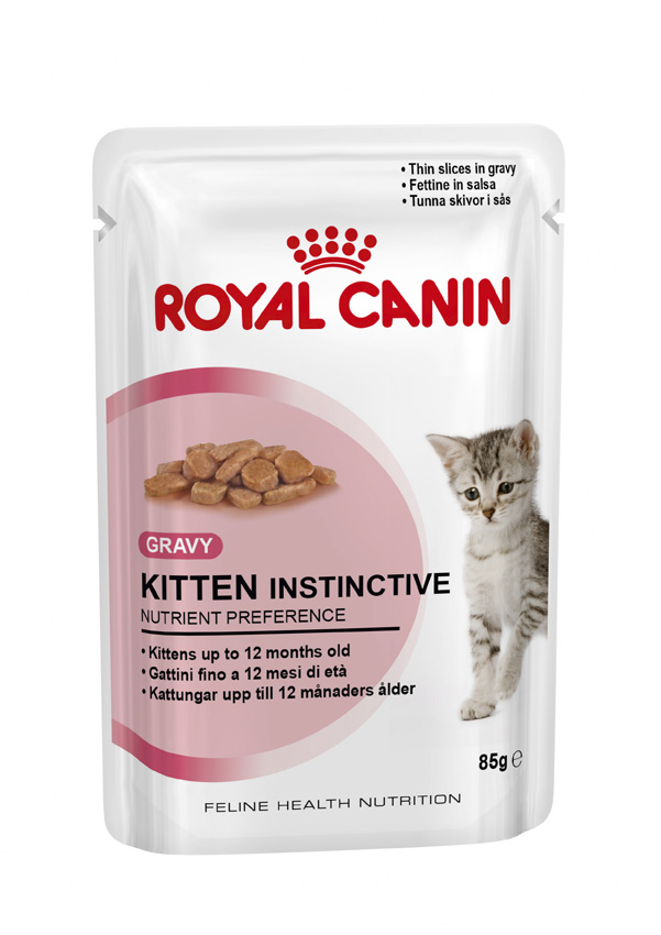 Royal Canin - Kitten Instinctive (gravy) 12x85g