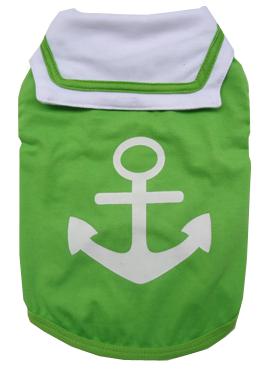 Quần áo cho chó Phốc lính hải Quân LHK màu xanh