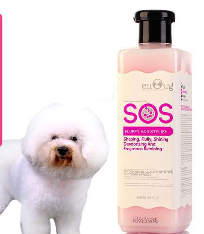 SOS - Dầu gội tạo kiểu và khử mùi 530ml (hồng)