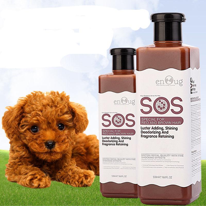 SOS - Sữa tắm cho lông nâu đỏ 530ml (nâu)