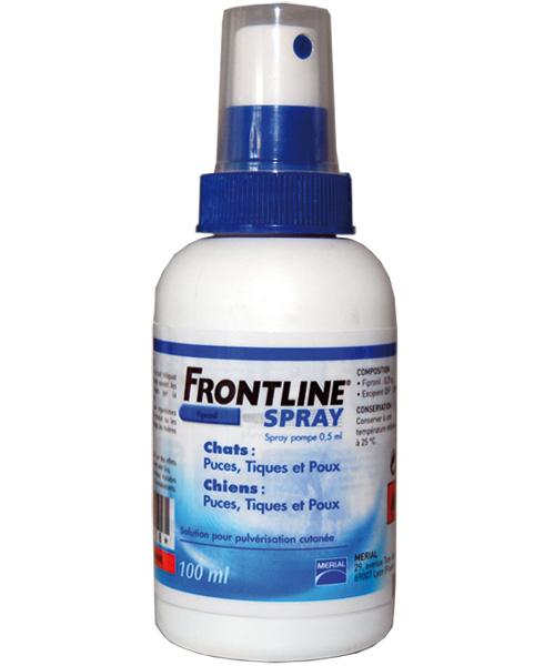 Thuốc xịt ve rận cho chó - Thuốc xịt rận chó Frontline spray 100ml
