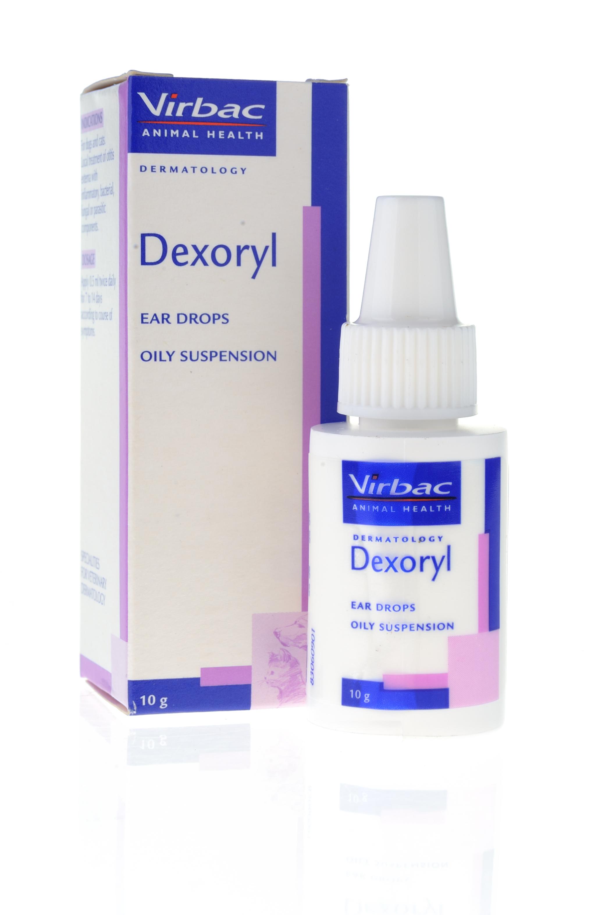 Dexoryl - Thuốc trị viêm tai cho chó mèo