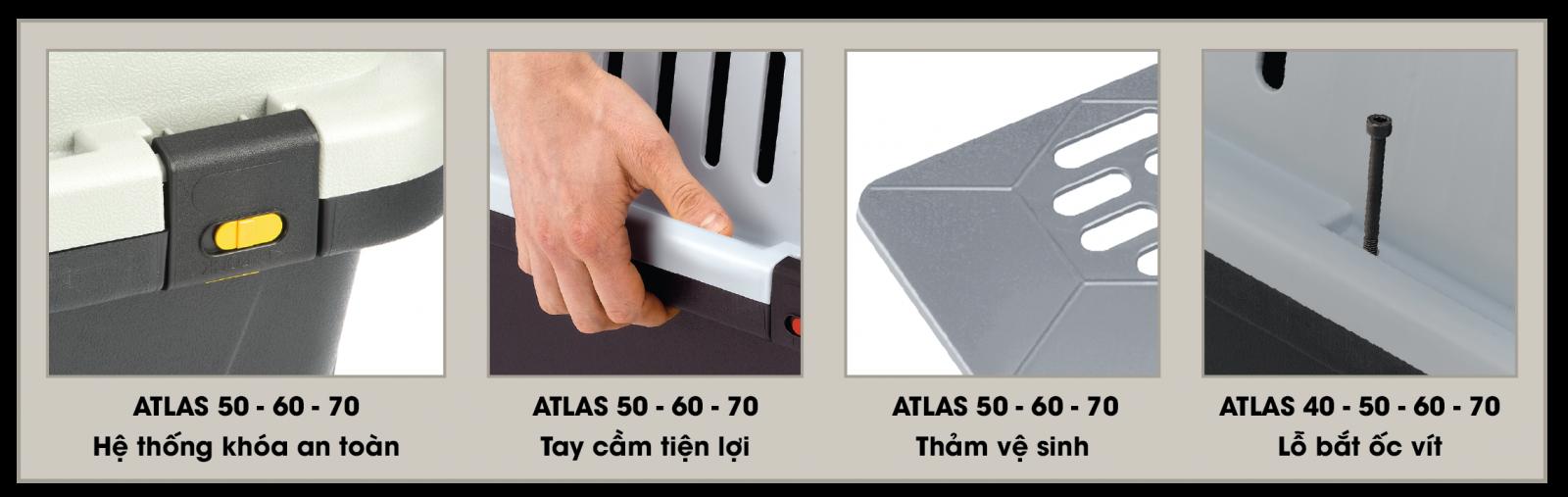 Lồng vận chuyển Ferplast Atlas Professional 60 (91x61x67cm)