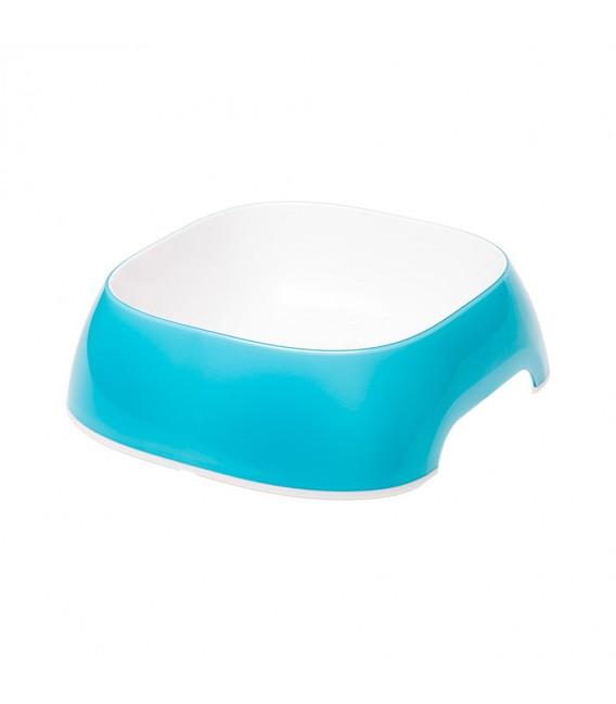 Chén ăn nhựa Ferplast Melamine Glam 15x14x5cm (xanh dương)