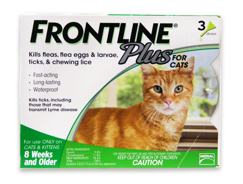 Thuốc trị ve rận cho mèo Frontline Plus nhỏ gáy